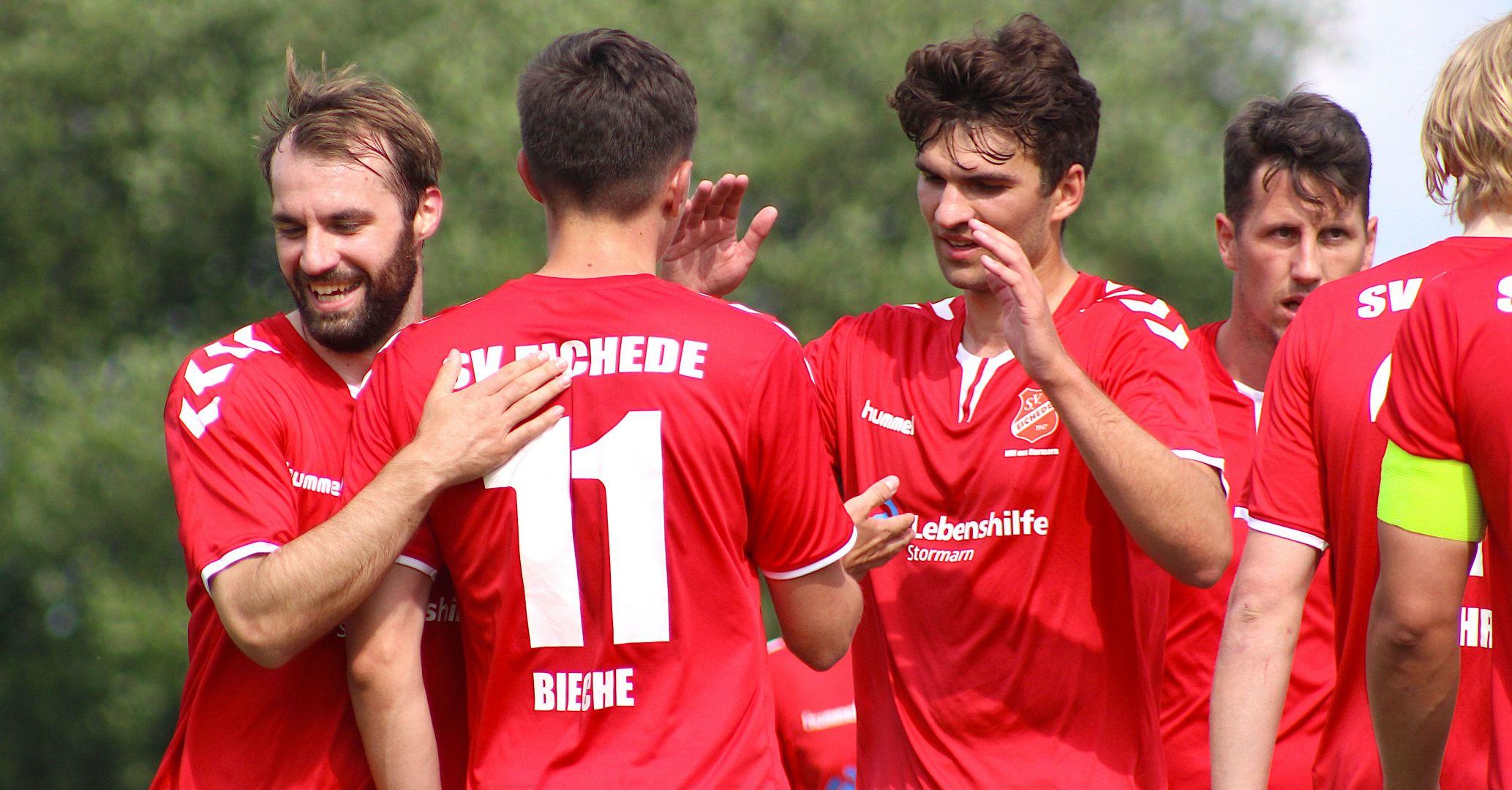 Pflichtaufgabe erfüllt: SV Eichede gewinnt Pokalspiel gegen Elmenhorst-Tremsbüttel