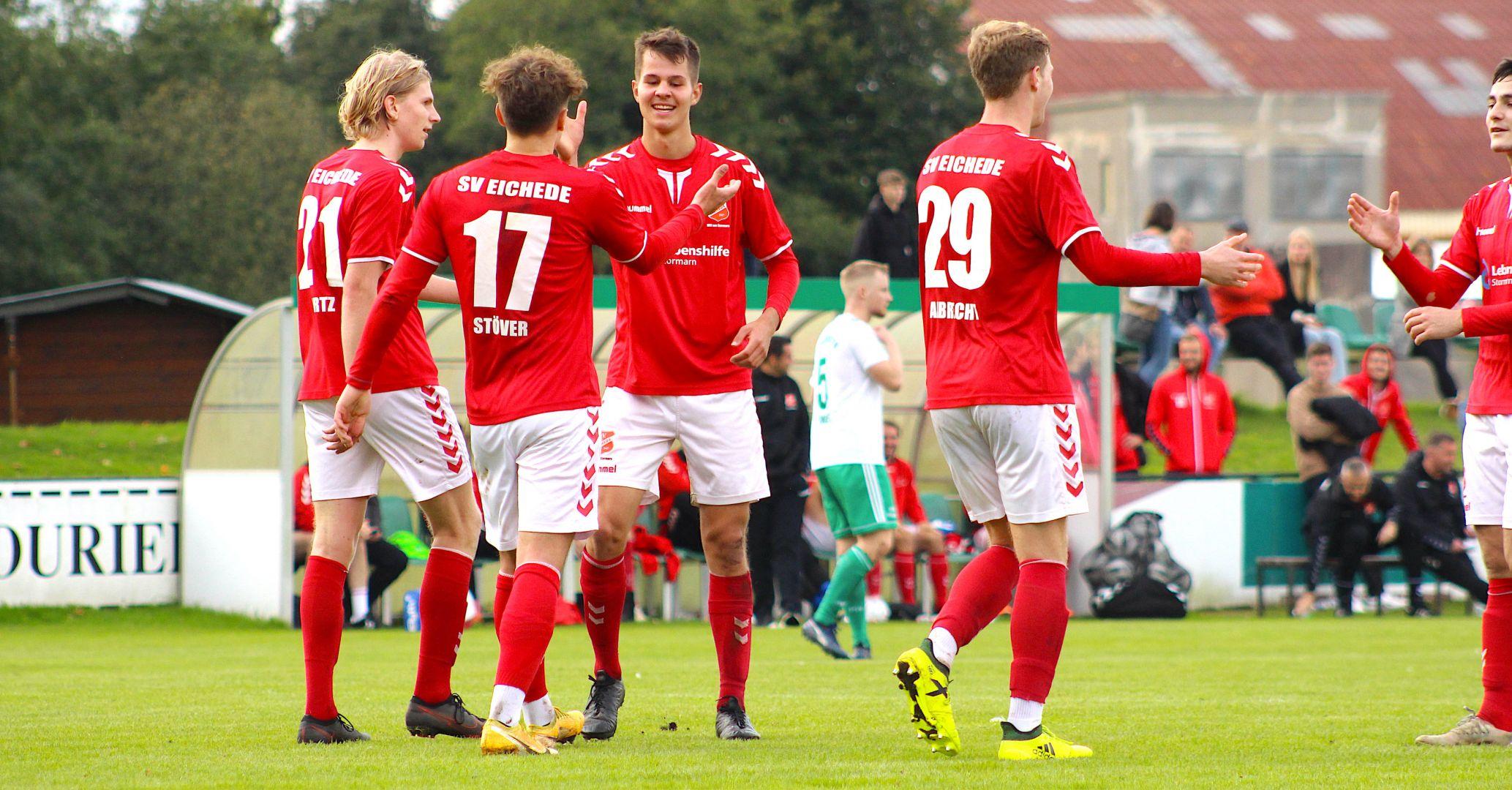 Souveränes 3:0 in Neumünster: SV Eichede überzeugt auch ohne Bestbesetzung